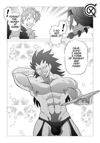 Bikini Gajeel getting paid- Dragon ball z hentai Fairy tail hentai Creampie
