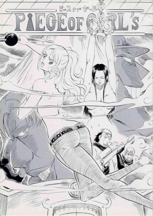 Wet Cunt PIECE OF GIRL'S- One piece hentai Lez Fuck